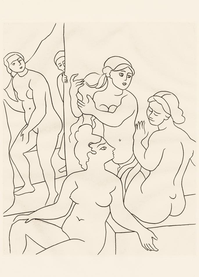 André Derain, Le Satyricon, 1