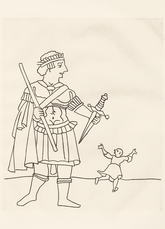 André Derain, Le Satyricon, 10