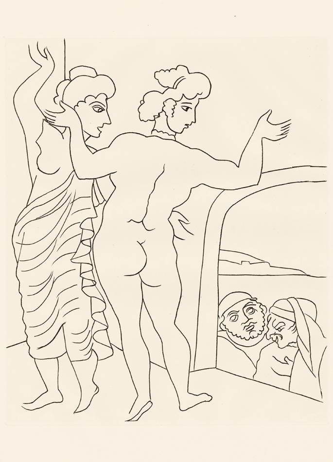 André Derain, Le Satyricon, 3