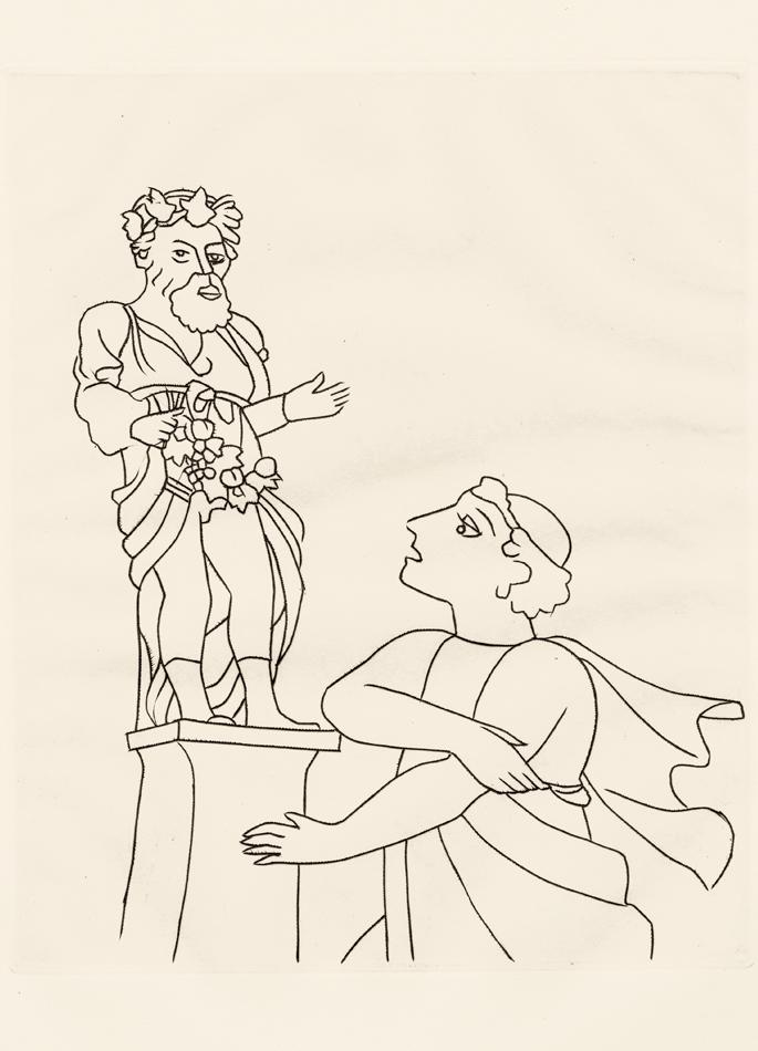 André Derain, Le Satyricon, 4