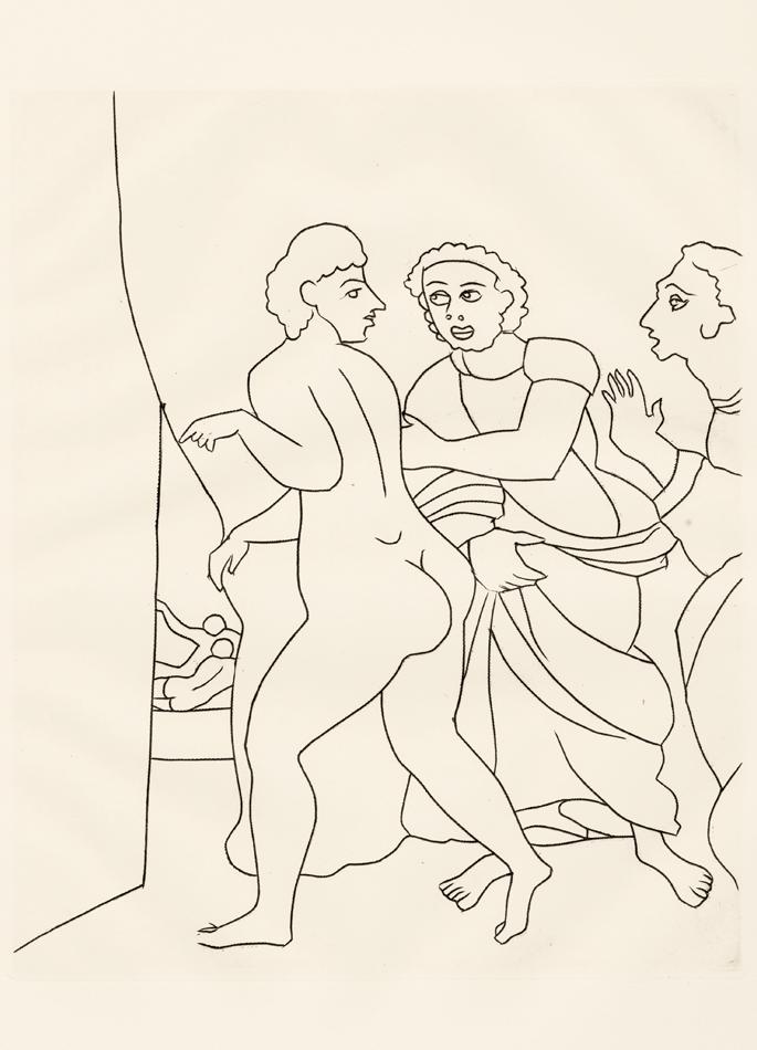 André Derain, Le Satyricon, 8