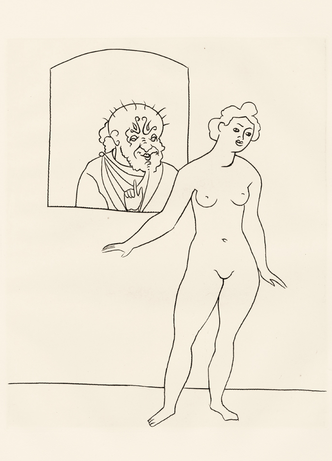 André Derain, Le Satyricon, 9
