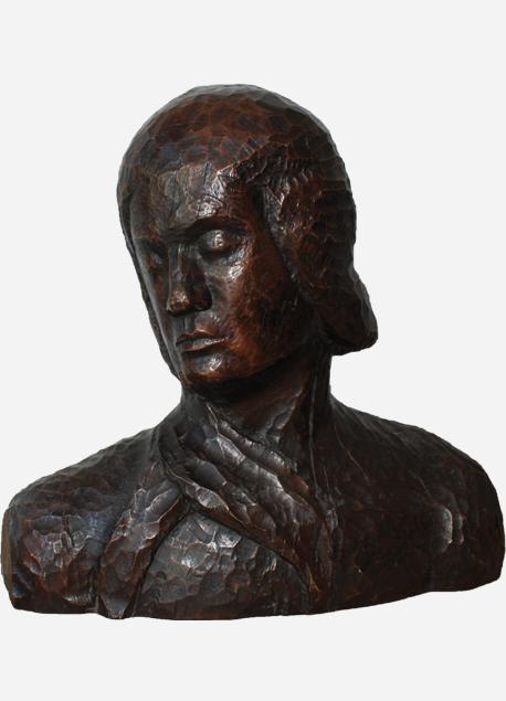"Émile Bernard ""Femme en buste"""