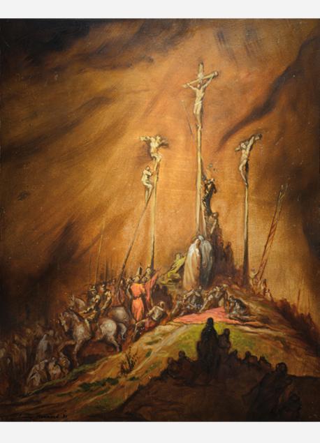 "Émile Bernard ""La crucifixion"""