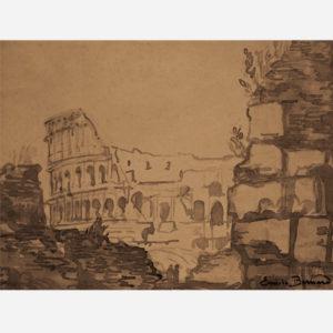 """Émile Bernard """"Rome Le Colisée"""""""