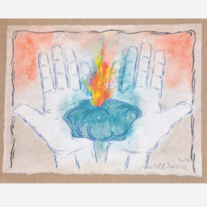 "Mark Brusse ""La flamme"""