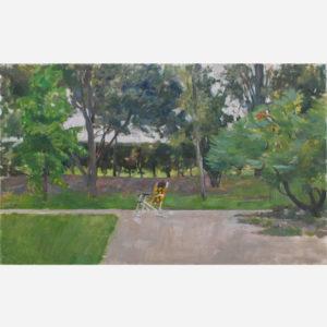 """André Tondu """"Dans le jardin"""""""