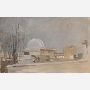 """André Tondu """"Le toit de l'observatoire"""""""