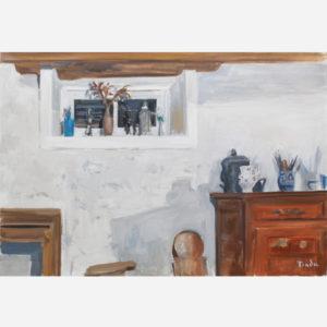 """André Tondu """"Maison du peintre. L'intérieur"""""""