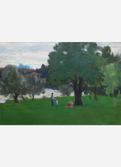 """André Tondu """"Paysage (temps gris)"""""""