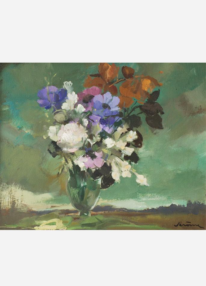 Pierre Jérôme, Bouquet bleu