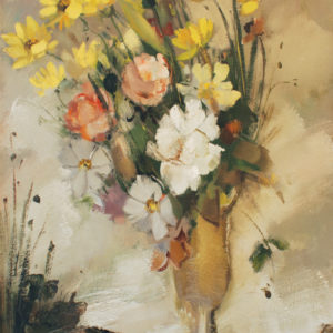 Pierre Jérôme, Bouquet multicolore