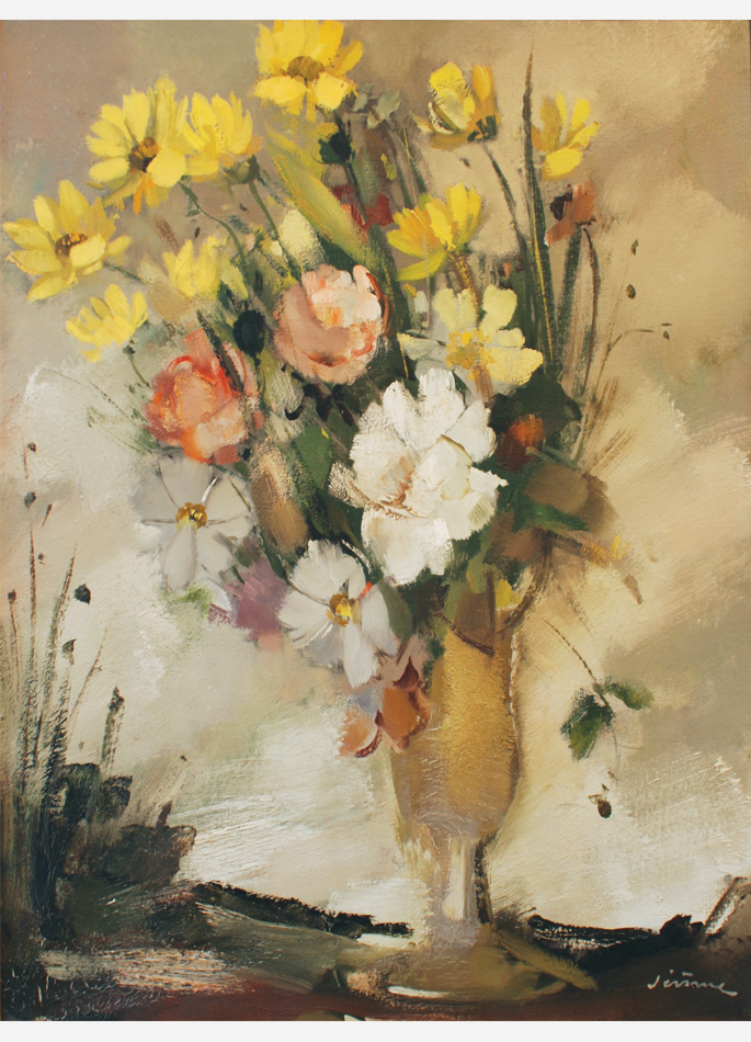 Pierre Jérôme, Bouquet multicolore