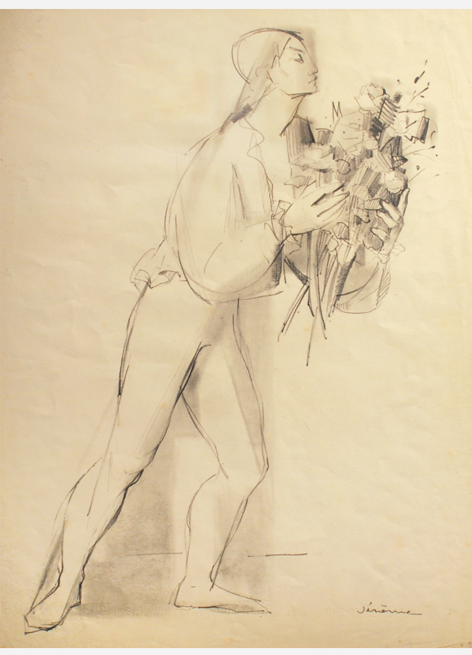Pierre Jérôme, L'Homme aux fleurs