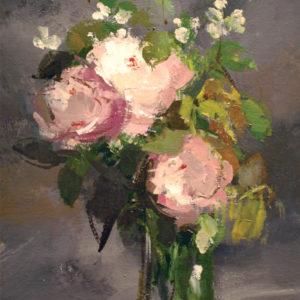 Pierre Jérôme, Pivoines roses