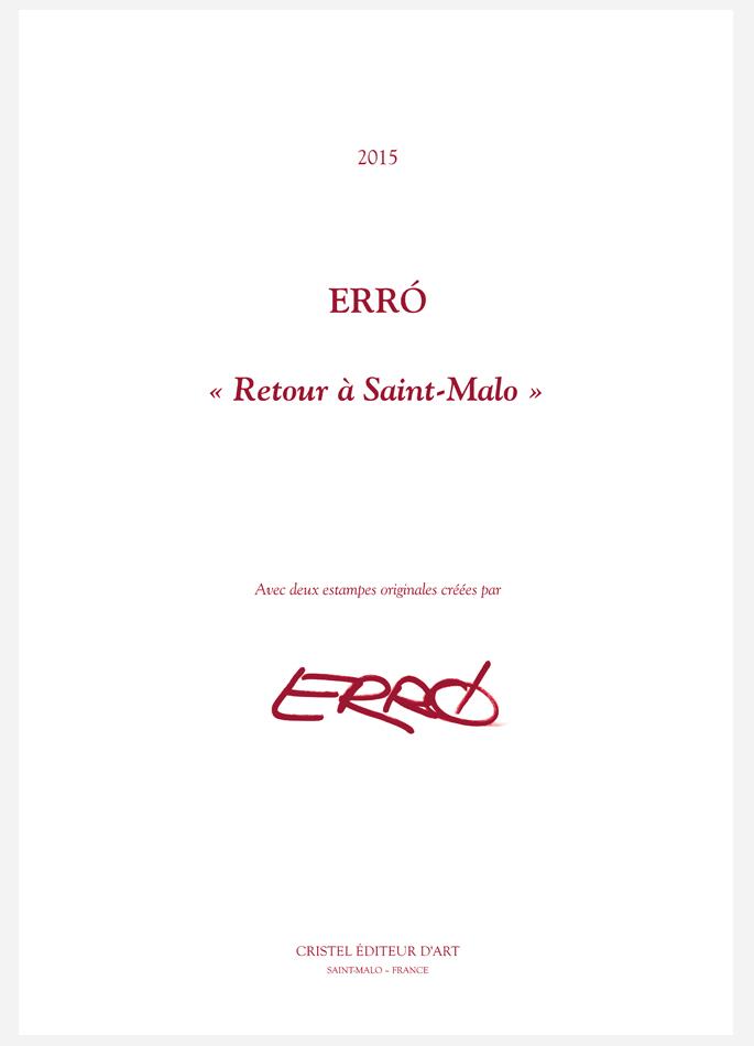Erró, Porfolio Retour à Saint-Malo