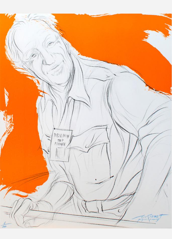 Ernest Pignon-Ernest Prix Jacques Goddet