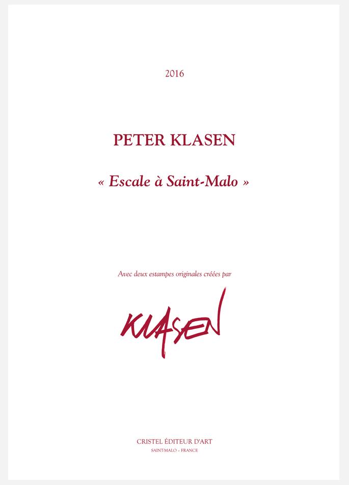 Peter Klasen, Portfolio Escale à Saint-Malo