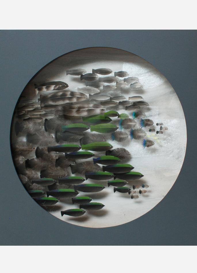 Anne Limbour Vert tropique