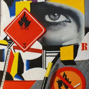 Peter Klasen Hommage à Fernand Léger