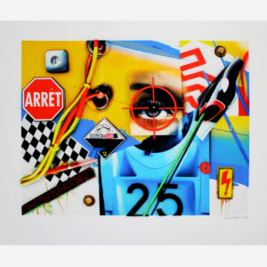 Peter Klasen Sérigraphie 3D