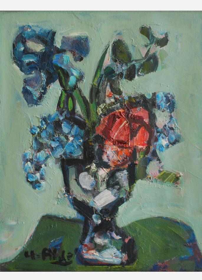 Yvette Alde Iris rose lilas