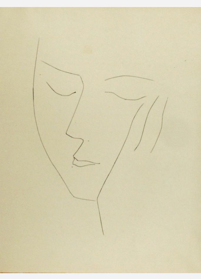 Picasso Visage Carmen