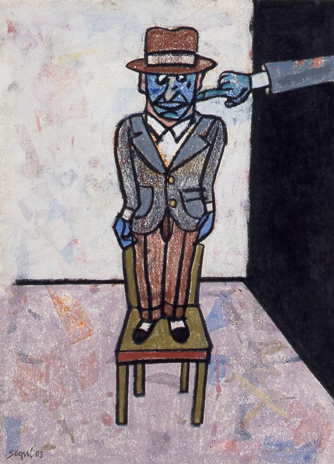 Antonio Seguí, sans titre, 2003 © Christophe des Brosses