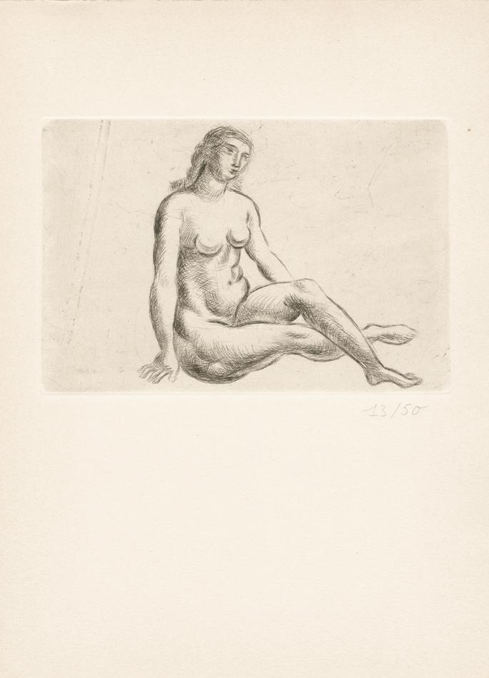 André Derain, Nu assis