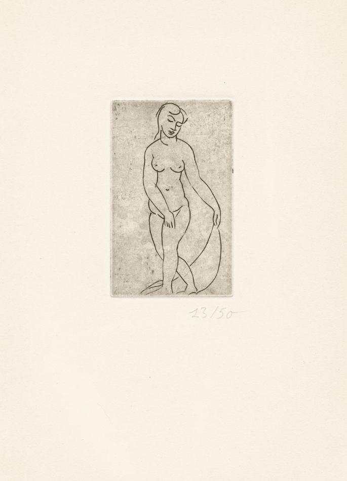 André Derain, Nu au voile