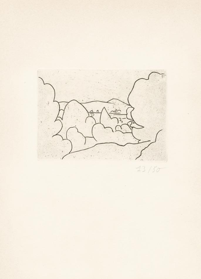 André Derain, Paysage