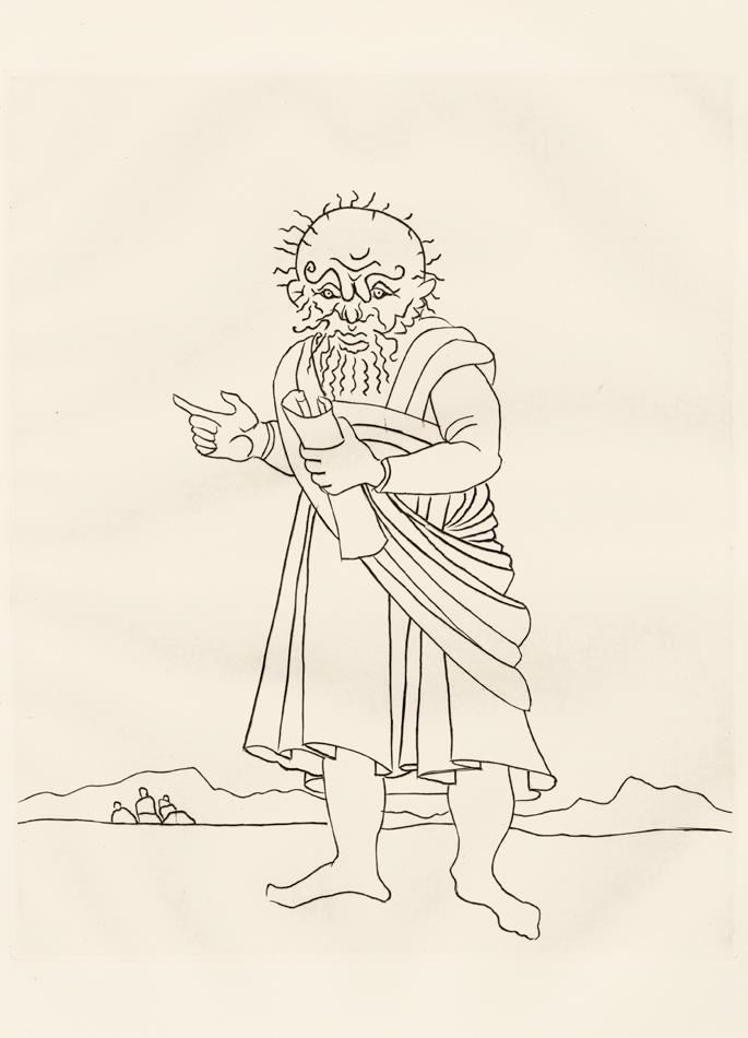 André Derain, Le Satyricon, 11