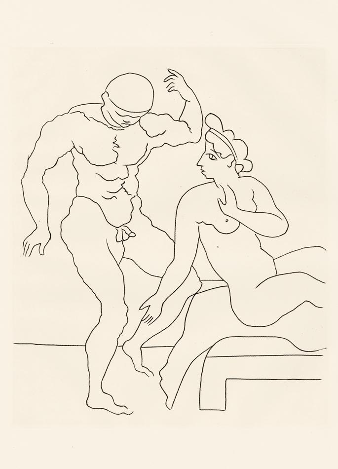 André Derain, Le Satyricon, 14