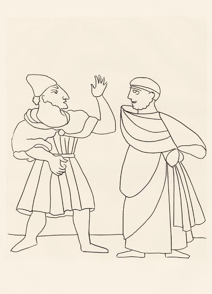André Derain, Le Satyricon, 15