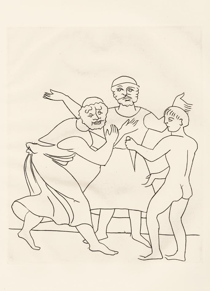 André Derain, Le Satyricon, 17