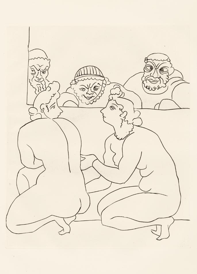André Derain, Le Satyricon, 18
