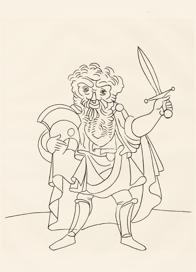 André Derain, Le Satyricon, 28