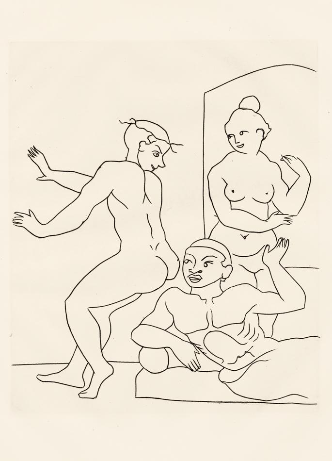 André Derain, Le Satyricon, 30