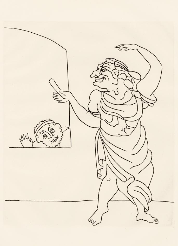 André Derain, Le Satyricon, 31