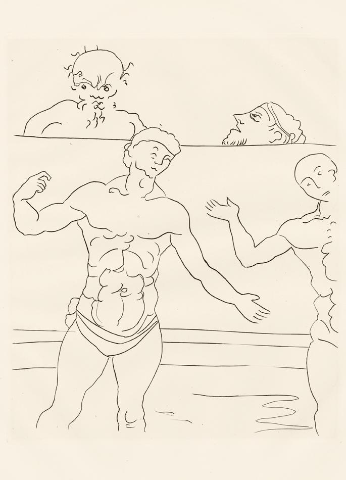 André Derain, Le Satyricon, 32