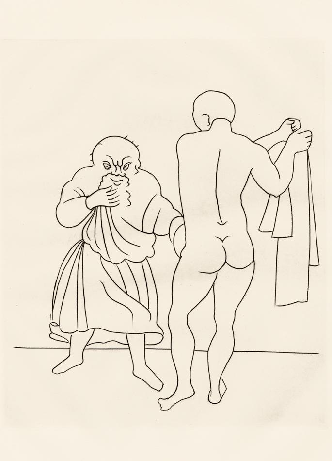 André Derain, Le Satyricon, 35