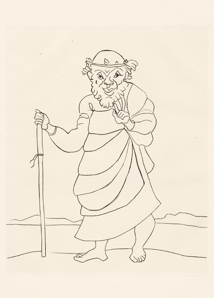 André Derain, Le Satyricon, 36