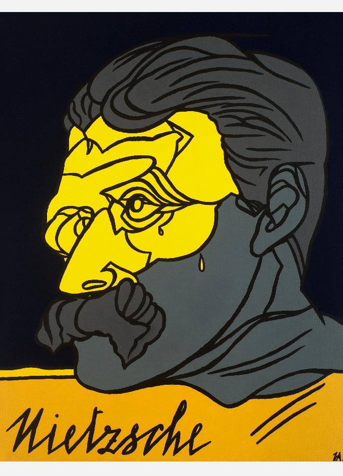 Nietzsche par Valerio Adami