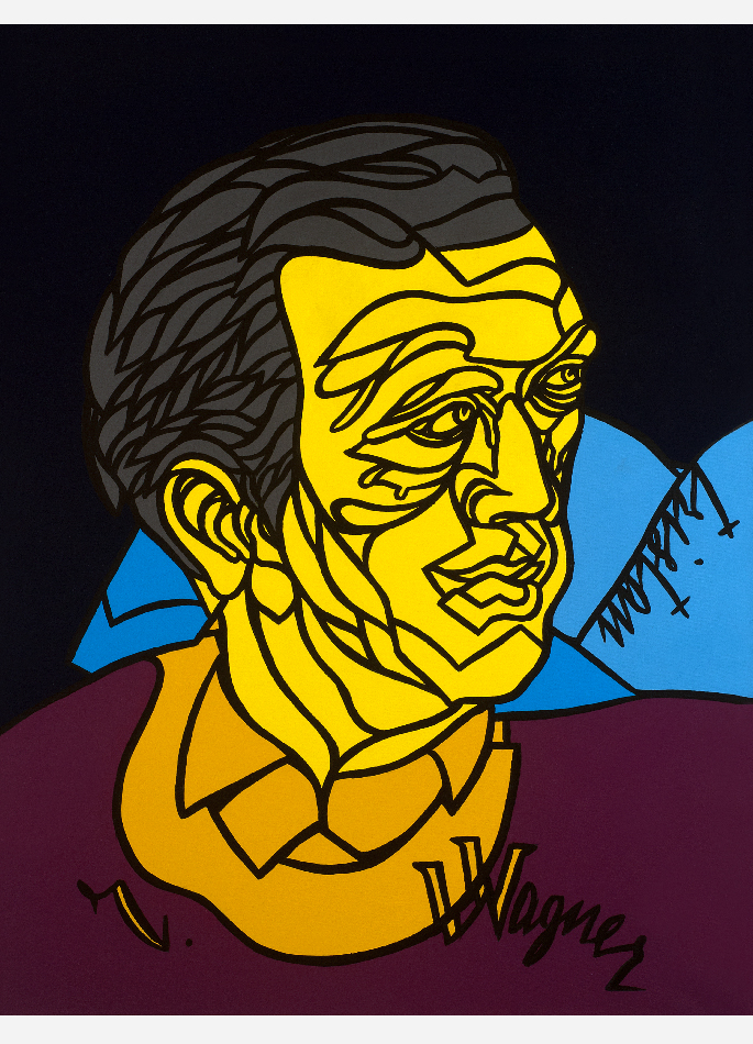 Wagner par Valerio Adami