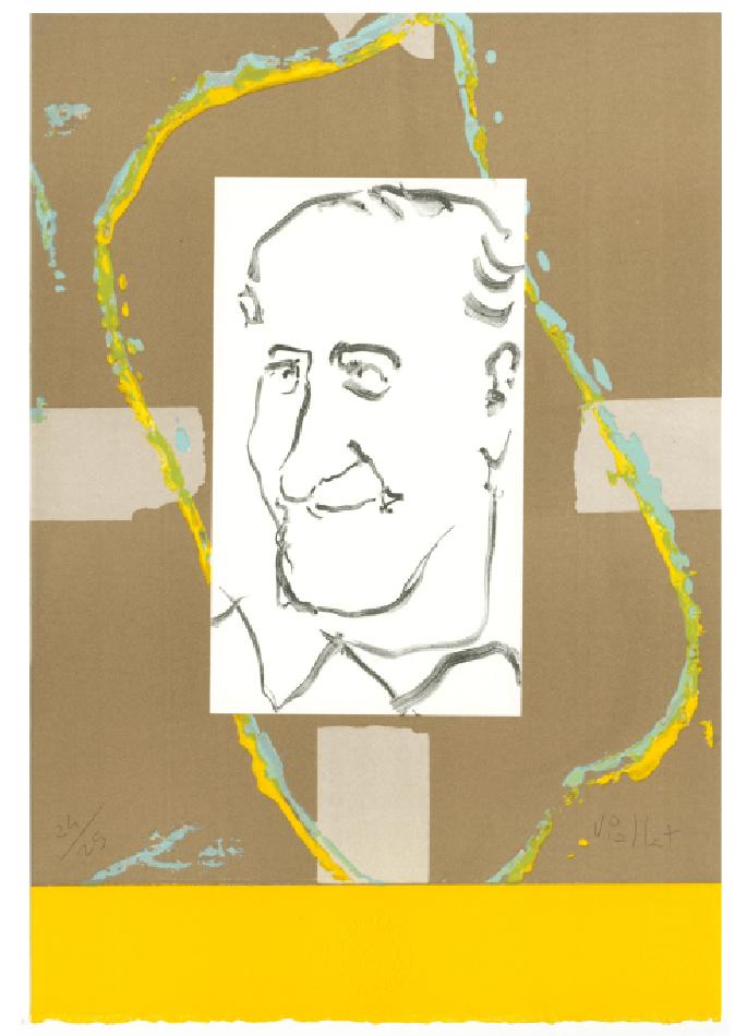14e Prix Jacques Goddet - Claude Viallat