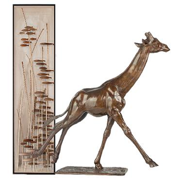Exposition art contemporain Steppe et savane