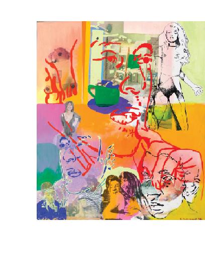 Exposition art contemporain Gérard Guyomard
