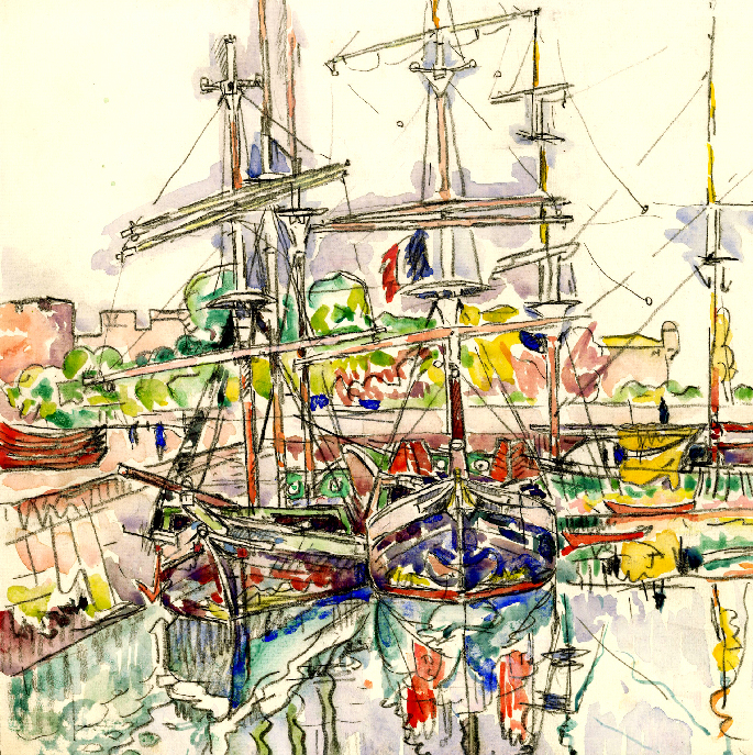 Exposition  Paul Signac