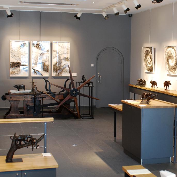 Exposition Steppe et Savane - Colcombet et Limbour
