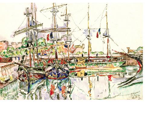 Exposition art moderne Paul Signac